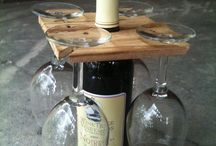 Wine wood design
