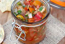 Tomato Recipes / Tomato recipes -- fresh tomatoes -- summer tomato recipes -- salsa -- homemade tomato sauce -- tomato salads.