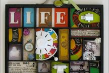 Wall art / Shadowboxes and other fun things for your walls