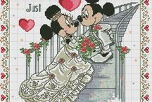 Disney Mickey Maus Cross Stitch