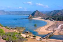 Beaches in Central Lombok / The beautiful beaches in Central Lombok