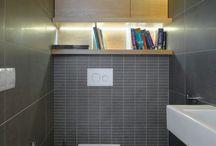 шкаф в туалете (спрятать трубы)