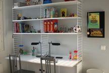 Koululaisen huone