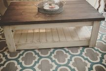 paint that new wood coffee table!