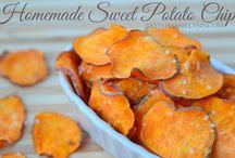 Sweet Potato crips / Healthy Eating
