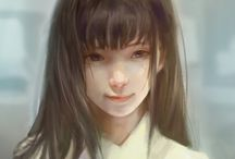 manga painting