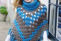 haken omslagdoeken poncho sjaals