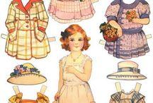 χάρτινες κούκλες