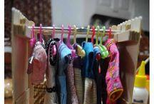 muebles para barbie,  ideas para niñas