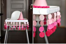 Polka dots birthday party theme