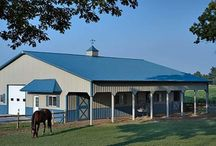 Equine Buildings / Whether horses are your hobby or your business, we understand the many unique requirements of building safe, efficient, healthy and attractive horse barns and riding arenas. It starts with good planning and intelligent design. Our designers can either start from scratch or enhance the beauty and functionality of your original ideas. The goal in all of this is to arrive at a horse barn that provides an optimal balance between humans' priorities and horses' needs.