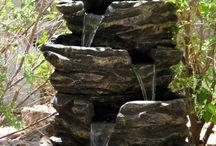 Garden Pounds & Fontains / #garden #fontains #trädgård #fågelbad #pounds #fontäner #birdbath