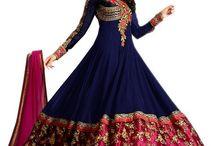 šaty Indie
