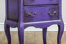 muebles pintados.