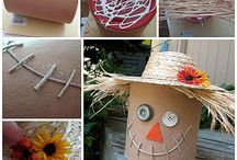 Fall Crafts - Crafts by Amanda / Fall crafts for kids and adults alike on Crafts by Amanda. Plenty of of creative ideas for autumn!
