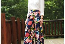 Palazzo pants patterns!
