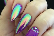 nails stiletto