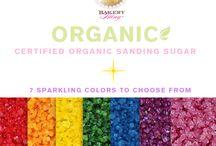 Bakery Bling™ Certified Organic Sanding Sugars