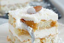 A.ciasta, przekladane,kremowe