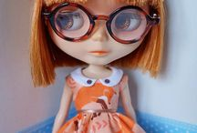 Blythe with glasses