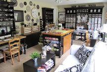 Sewing room/ corner