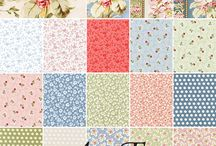 """Fabric Collections by Gerri Robinson / Fabrics designed by Gerri Robinson for Red Rooster Fabrics.  100% quilters cotton; 44""""/45"""" wide.  Always available at your independent quilt shops or your favorite on line store."""