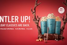 Antler Up for the Holidays! / Celebrate the Holidays with Caribou Coffee!