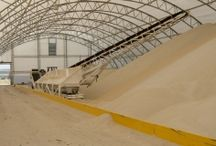 Fertilizer Storage / Accu-Steel fertilizer storage buildings can accommodate the unique needs of your business with constant real air movement, flexible clear span building space, and an overall healthy environment.