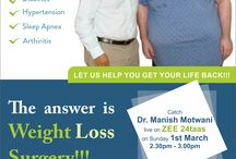 Don't Lose the Battle, Lose the Weight!! / Catch Dr.Manish Motwani LIVE on Zee 24 Taas this Sunday ,1st march'2015. http://bit.ly/weightlossevent