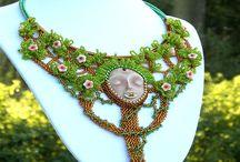Hana Grzybowska- autorské šperky,bižuterie / Moje autorské šperky, které byli vyrobeny na různá témata.