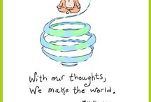 Monday Funda / Through this board we will be sharing a little inspiration with you every #Monday!   Fundas to help you #beattheblues because  'With our thoughts we make the world!'