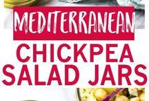 chickpea salads