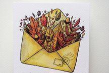 autumn drawing ideas