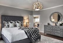 colorful master bedroom design on a dime