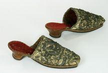 17th century footwear mules