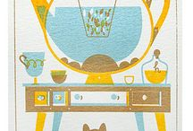 {lovely} illustration / could also be in good design... / by Cheryl Sosnowski - Just Add Noodles