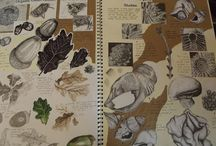 Leaf, petal and root patterns