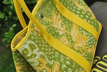 Batik bags and shoes
