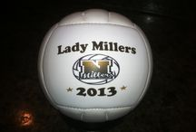 Volleyball Gifts / Personalized volleyballs make the best gifts to catch the memories of a great season!