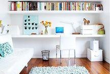 Biuro w domu / Inspiracje dla biura domowego/pokój wielofunkcyjny