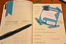 Bullet journal / Hints and tips for using a bullet journal