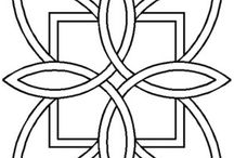 Celtic, Stencil.