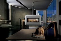 Marchard Designs and Palazzetti Wood Burning Stoves, Wood Pellet stoves / A range of wood burning stoves, and wood pellet stoves designed by Marachard Designs with Palazzetti Technology
