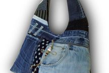 Jeans hand bags