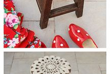 crochet cover Chairs
