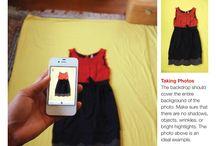 Foto av klær