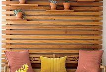Palette & wooden constructions
