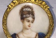 medaglie, croci e ritratti in miniatura / medaglie da collezione preziose