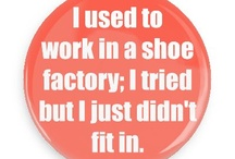 Employment Humor Buttons / Funny Buttons - Custom Buttons - Promotional Badges - Funny Employment Humor Pins - Wacky Buttons
