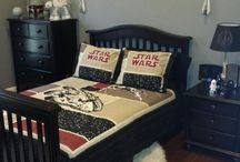 Luke's Star Wars bedroom